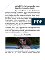 Jacqueline Fernandez Biography by Filmbees