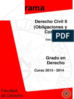 Programa Civil II Uned