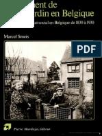 DT XXX Smets Cité Jardin Belgique 1830 1930