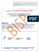MS Dynamics CRM Module 3 Customizing Microsoft Dynamics CRM Overview and Customizing Fields