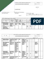 Plan Control Calitate Verificari Si Incercari - Acoperis Si Copertina Baraci