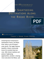 Top Sightseeing Destinations Along the Rhone River