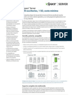 Datasheet VSpace Server (ES) 231287