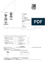 Buku Latihan Kimia f5