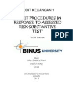 S12-Audit Procedures in Response to Assessed Risk Substantive Test.docx