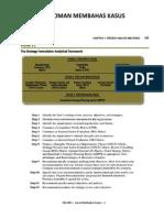 04 Pedoman Membahas Kasus - Fred David 13-Ed-2011