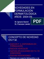 Novedades en Formulación Dermatológica 2