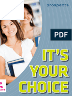 It's Your Choice Book 2014-2015