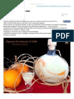 Blog.giallozafferano.it-liquore Di Arancia Al Latte