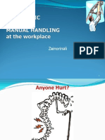 Ergonomic and Manual Handling