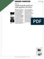 Barbara Spinelli contro la Prefettura di Pisa