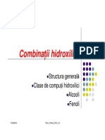 2-3 Combinatii Hidroxilice Alcooli Fenoli