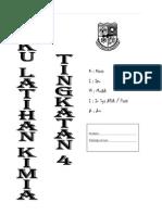 Buku Latihan Kimia f4 2015