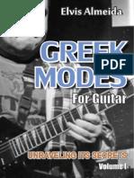 eBook GreekModesForGuitar UnravelingItsSecrets Vol I ElvisAlmeida FreeDemo