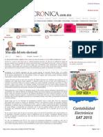 La Crónica de Hoy | Más allá del reto electoral