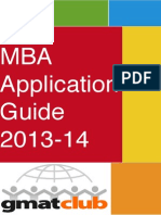 MBA Application Guide