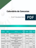 Calendário de Concursos FORMATADO