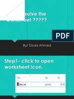 how to solve the worksheet.pdf