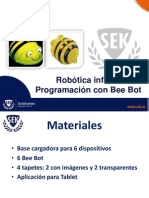 Bee Bot Robótica para Infantil