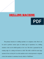 Drilling Machine & Reamers