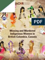 Indigenous Women BC Canada En