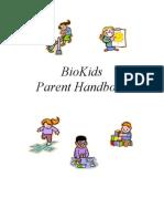 BioKids Parent Handbook
