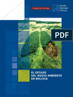 EL ESTADO DEL MEDIO AMBIENTE EN BOLIVIA en Bolivia