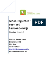 schoolreglement 2014-2015