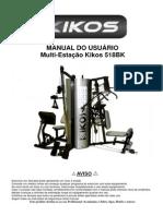 Estação de Musculação Kikos 518 BK