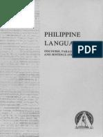Structure of Philippine Languages