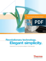 Thermo Scientific NanoDrop Products Brochure En