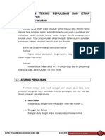 Modul 9 Pedoman Teknis Penulisan Dan Etika Pengumpitan