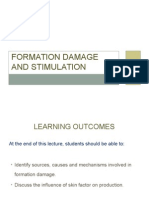 Formation Damage and Stimulation