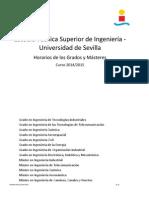 Horarios 2014-15