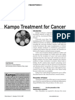 Kampo Treatment for Cancer