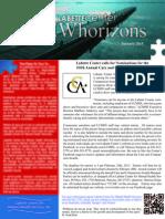 January 2015 First Quarter Community Newsletter
