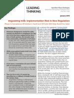 Regulating Risk - Volcker and CLOs