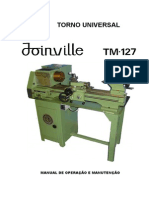Manual Torno Joinville TM-127 - HD