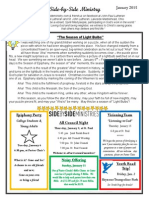 Newsletter, January, 2014