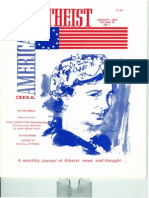 American Atheist Magazine Jan 1976