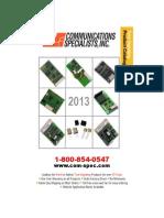 Comm-Spec Catalog 2013