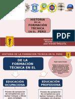 Historia de la educación Técnica en el Perú