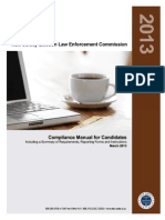 NJ ELEC Compliance Manual for Candidates