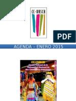 - Agenda – Enero 2015