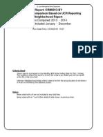St. Louis 2014 Crime Report
