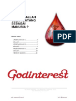 Apakah Allah Telah Datang Sebagai Manusia (by Iskander Jadeed)