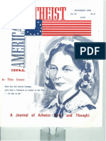 American Atheist Magazine Sep 1976