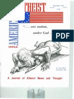 American Atheist Magazine Nov 1976