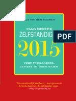 Handboek zelfstandigen 2015 - Van den Boomen (leesfragment)