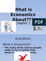 chap 1- what is economics about